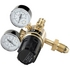 Draper Gas Bottle Regulator With 2 Gauges - 230 Bar